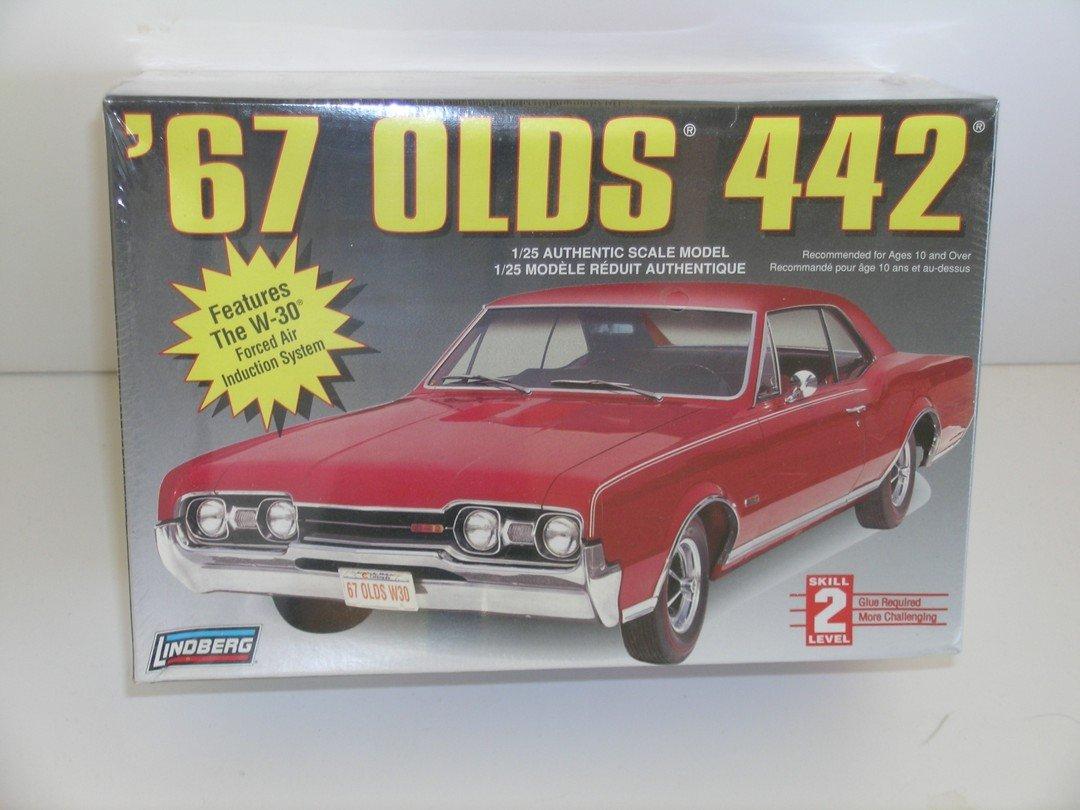 Lindberg 1967 Olds 442 Car Plastic Model Kit Toys Games Wiring Diagram For 1965 Oldsmobile F 85 Part 2