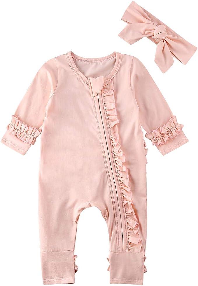 Amazon.com: Pijama de bebé recién nacido para niño y niña ...