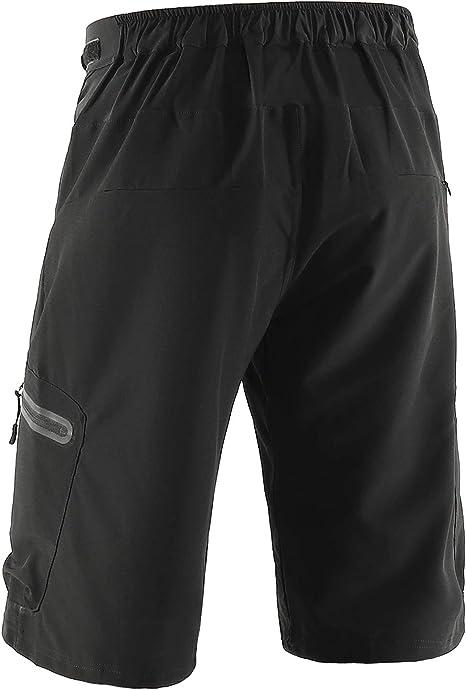 Arsuxeo Pantalones Cortos para Hombre, Pantalones Cortos Ciclismo ...