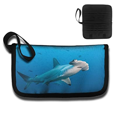 Gili Hammerhead Shark Travel Passport & Document Organizer Zipper Case