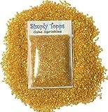 Sparkling Sugar crystals 30g - cupcake Cake Sprinkles for Decorating (Gold)