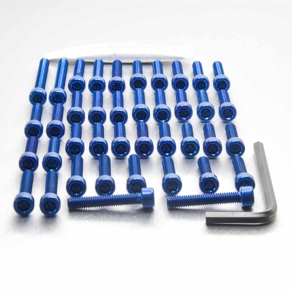 Kit Visserie moteur XT1200Z Super Tenere 10 Bleu