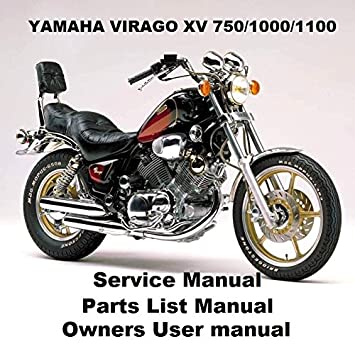 amazon com yamaha virago xv 750 1100 owners workshop service rh amazon com Yamaha Virago 750 Specifications Yamaha XV 750 Virago Motorcycle