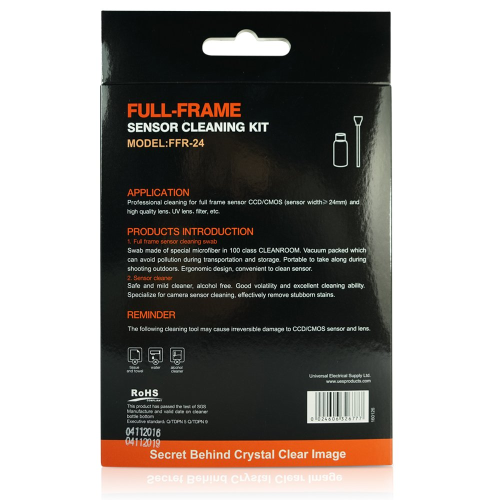 UES Kamera Vollformat Sensor Reinigungs Kit für 6: Amazon.de: Elektronik