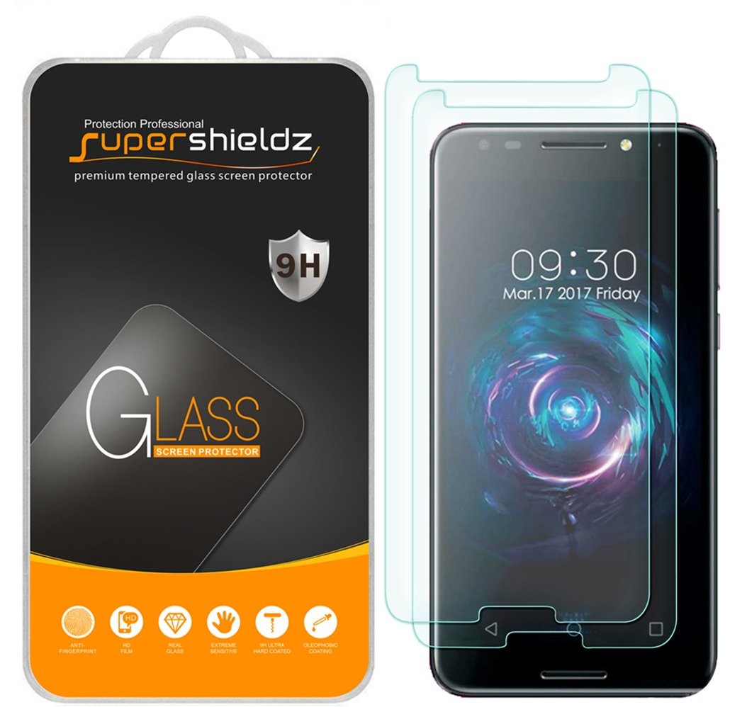 [2-Pack] Supershieldz for T-Mobile REVVL Tempered Glass Screen Protector,  Anti-Scratch, Anti-Fingerprint, Lifetime Replacement [Not Fit for T-Mobile