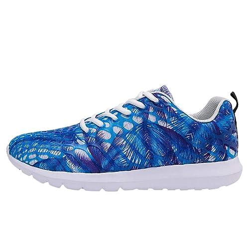 LHWY Zapatillas Mocasines de Deportes Zapatos de Malla Transpirable para Mujer Zapatos Deportivos para Correr Zapatillas de Deporte para Correr al Aire ...