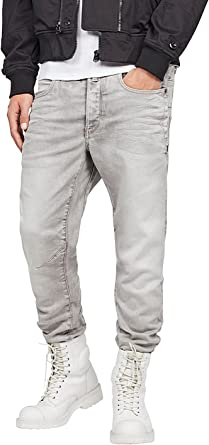 TALLA 28W / 32L. G-STAR RAW D-STAQ 3D Straight Tapered Jeans para Hombre