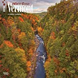 Vermont, Wild & Scenic 2018 12 x 12 Inch Monthly Square Wall Calendar, USA United States of America Northeast State Nature (Multilingual Edition)