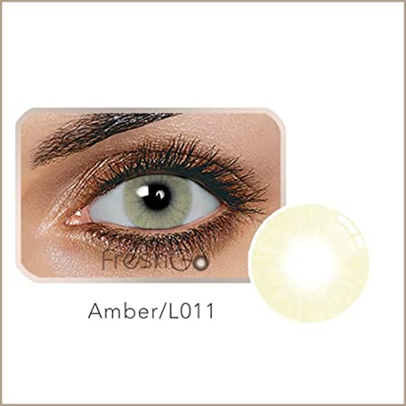 Ncient Lentillas Colores 1 Año Suave, Lentes de Contacto Cosplay Ojos Maquillaje: Amazon.es: Hogar