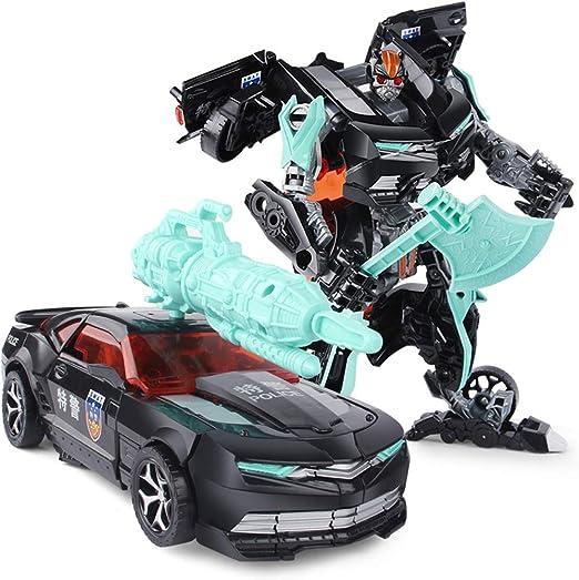 Yingjianjun Modelo de Robot de Auto Car de Police Car, Robot de ...