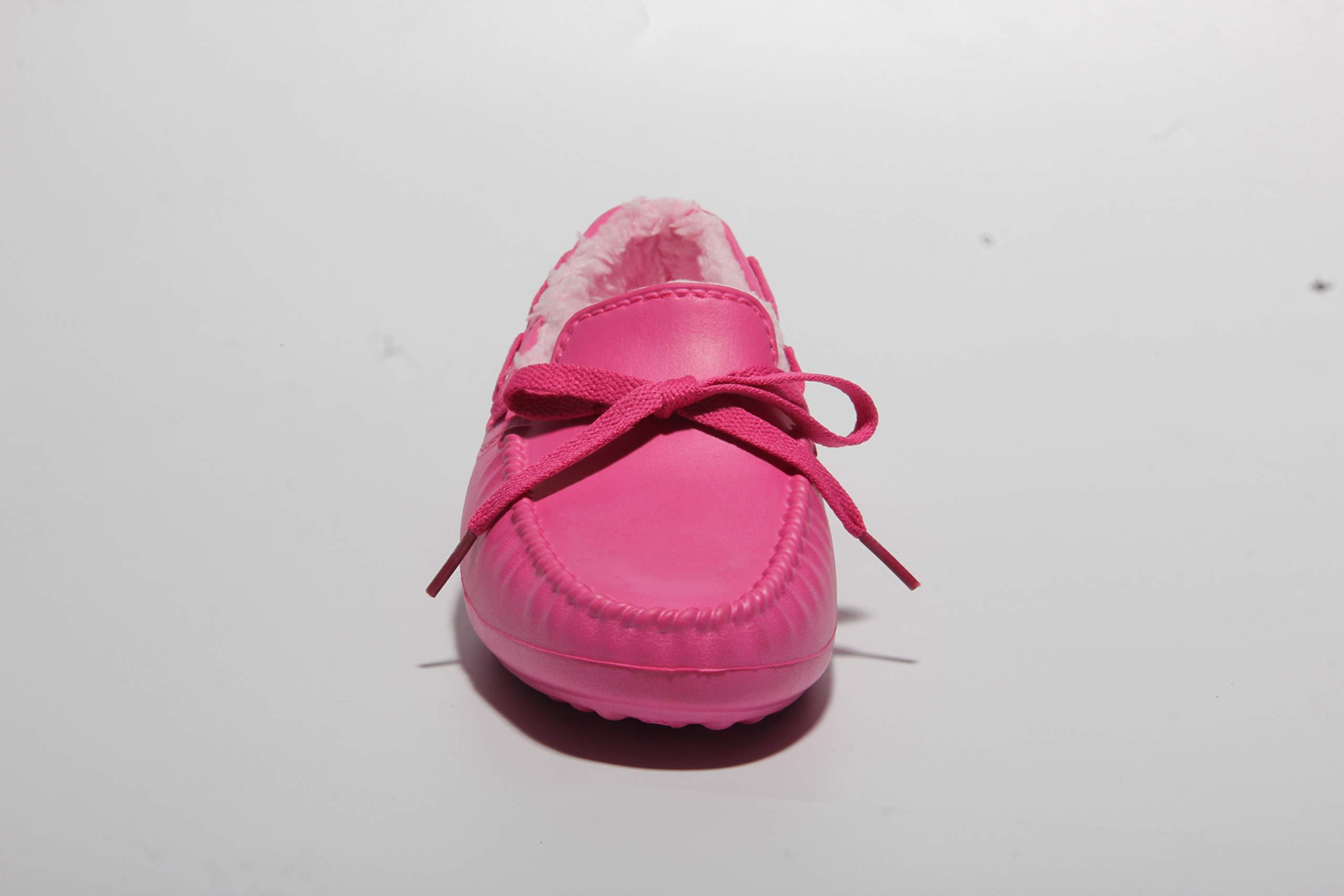 Women\'s Warm Comfy Velvet Memory Foam Ballerina Slippers Plush Shallow Peas Closed Back House Shoes Indoor Floor Footwear Red