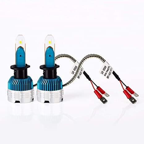 Kit 2 Bombillas LED H1 Faros Luces Delanteros DC12V/6500k Conexión Plug and Play/