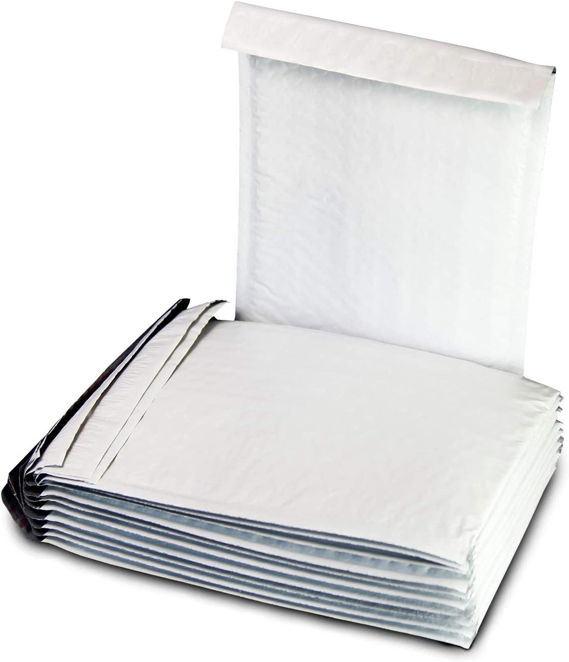 Water-Resistant and Postage-Saving Lightweight Purple, 300 Pack Forlei #000 4 x 8 Premium Color Self Seal Poly Bubble Mailers Padded Shipping Envelopes Tear-Proof