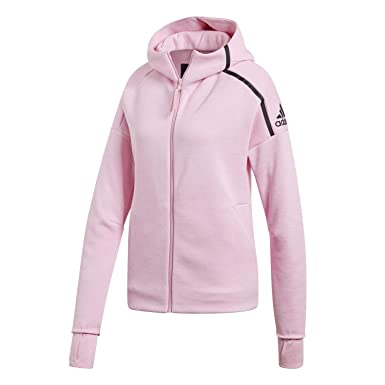 release date buy best free delivery adidas Damen Zne Fast Release Hooded Trainingsanzug Jacke