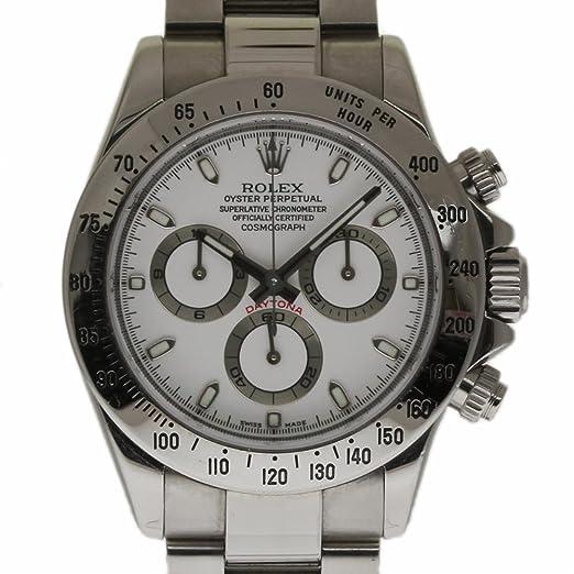 Rolex Daytona swiss-automatic 116520 - Reloj para hombre (Certificado) de segunda mano: Rolex: Amazon.es: Relojes