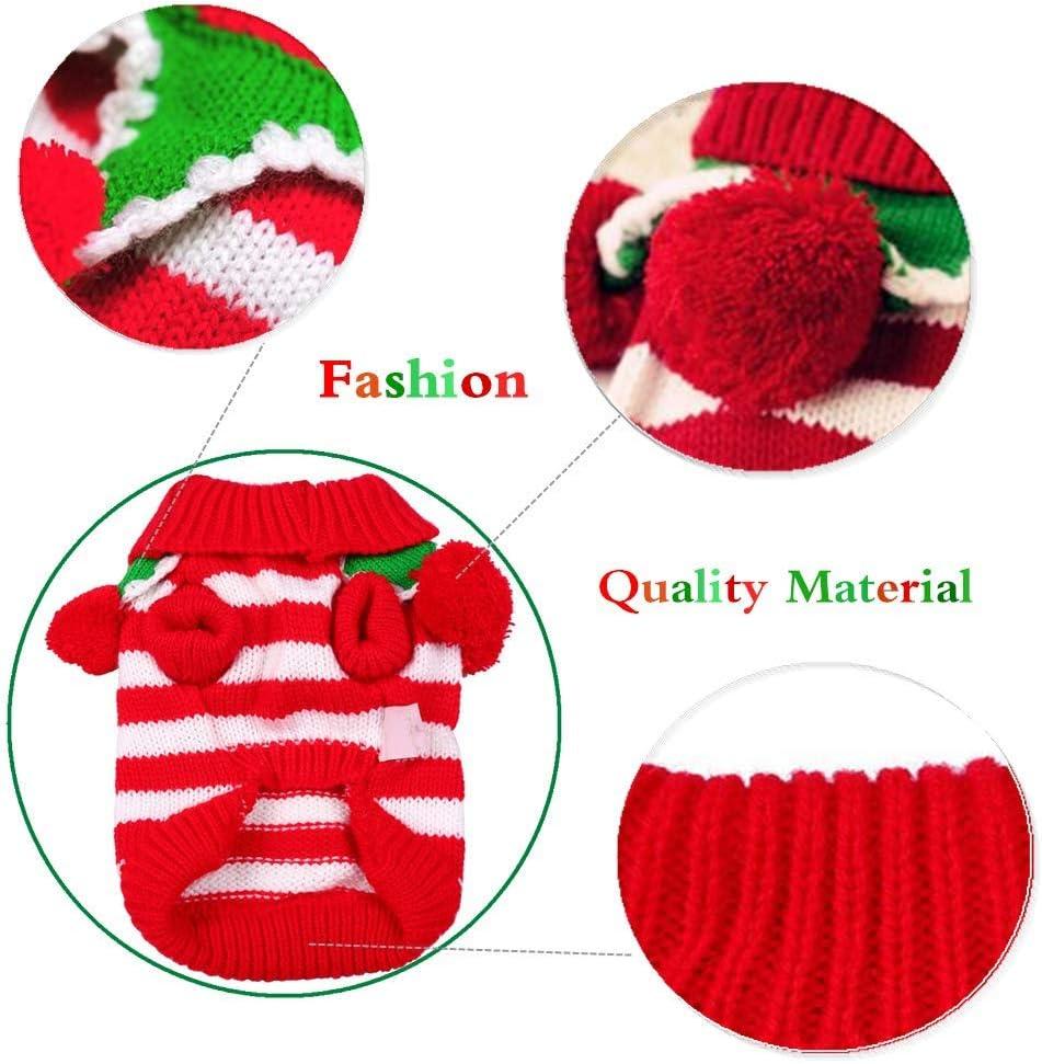 Zehui S/ü/ß Haustier Kost/üm Pfaumuster Design H/ündchen Hund Katze Cosplay Outfit zum Weihnachten Karneval Party von SamGreatWorld