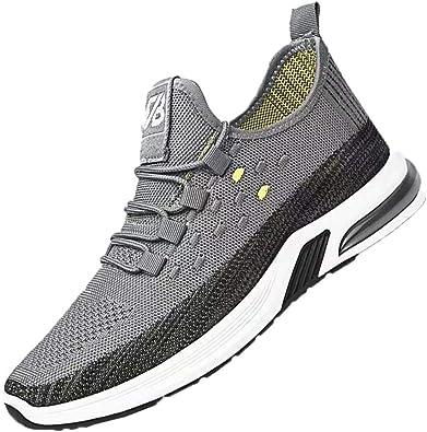 Zapatillas de Running para Hombre Zapatillas de Deporte Ligeras Transpirables de Corte bajo para Deporte al Aire Libre Zapatillas de Deporte para Caminar Antideslizantes para Trotar: Amazon.es: Zapatos y complementos