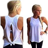 Sannysis Camisetas Mujer Mujer Camiseta Verano Blusa Casual