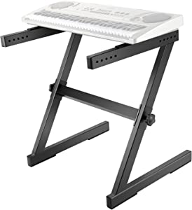 Neewer Z-Style Keyboard Stand - Heavy Duty Steel Construction with Solid Locking System, Support Stand for Piano Keyboard Instrument