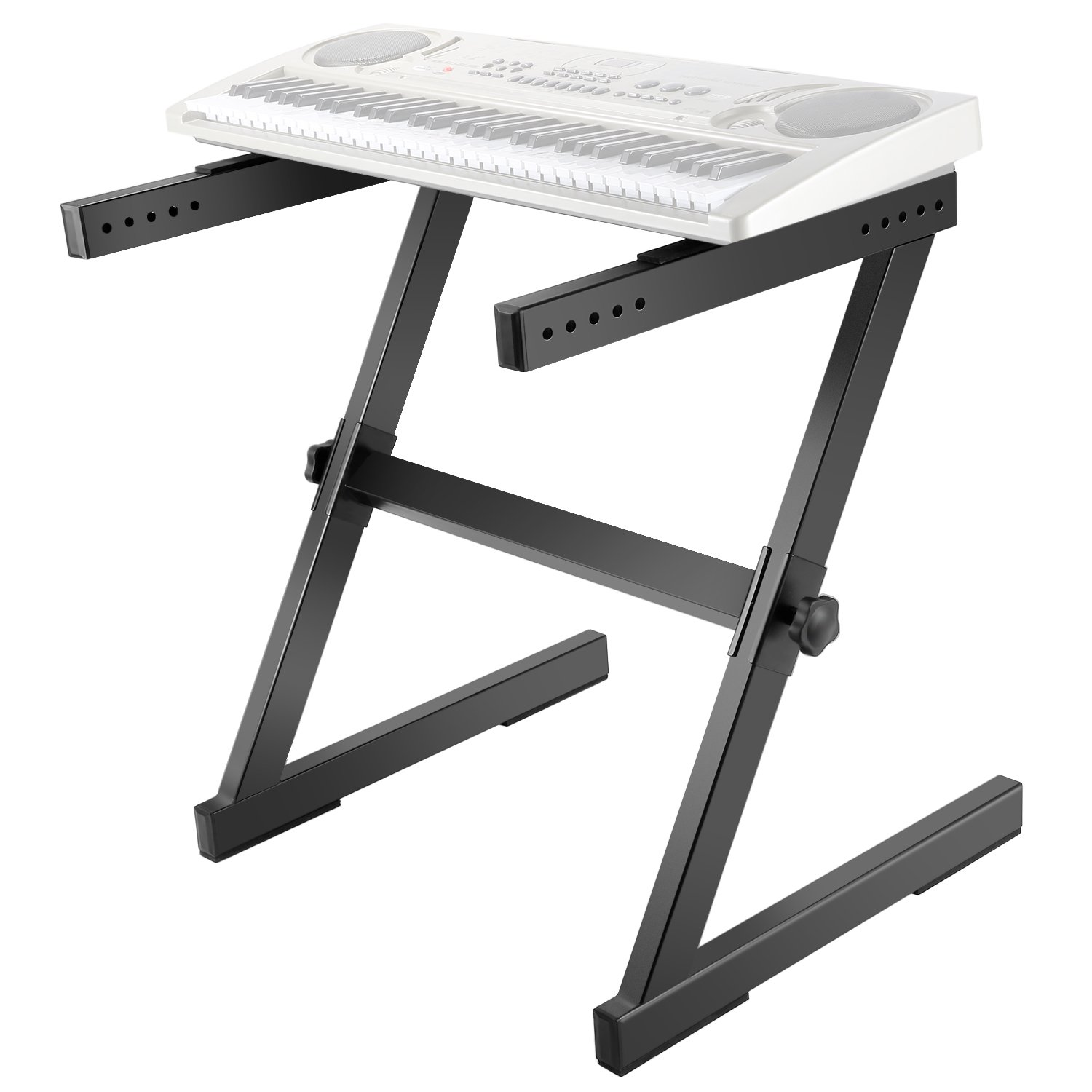Neewer® Heavy Duty Z-Style Keyboard Stand with 23.2-35.4/59-90cm Adjustable Height and 24.6-40.9/62.6-104cm Adjustable Width 40087971