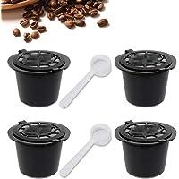 SIMUER Compatible con cafetera Nespresso Cápsulas Negro 4