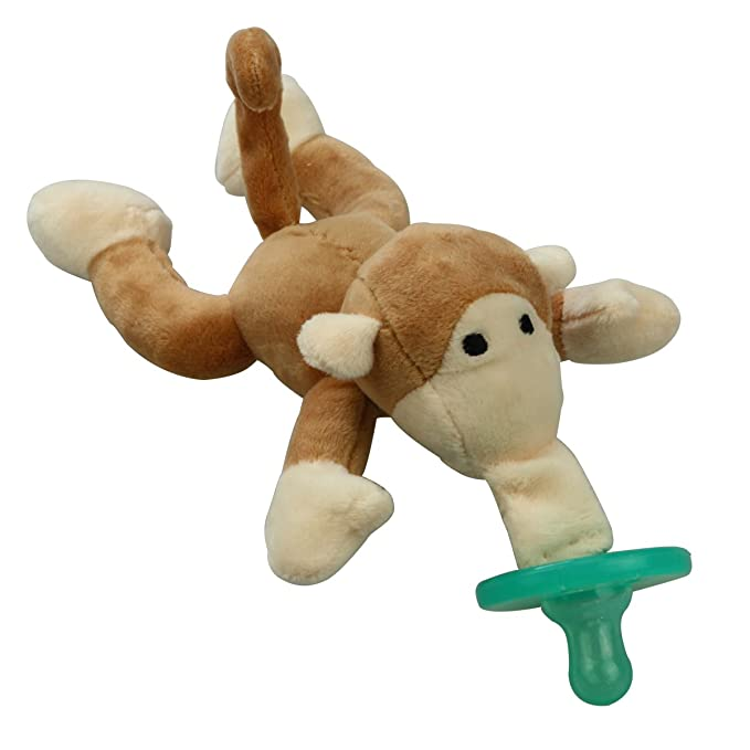 jessiebaby peluche infantil Chupete, diseño de mono: Amazon ...