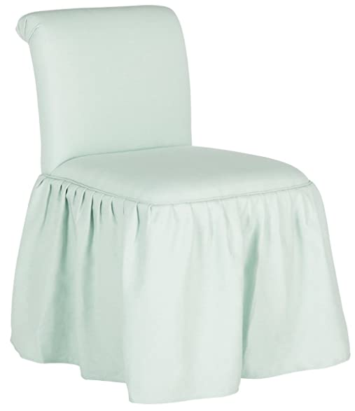 Safavieh Mercer Collection Ivy Robins Egg Blue Vanity Chair