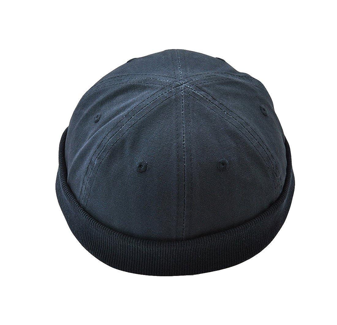 ACVIP Men's Cotton Blend Beanie Hat Skull Cap