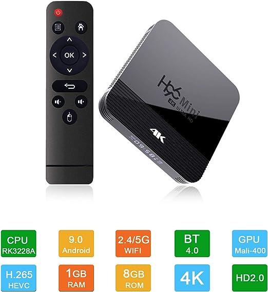 GWX 4K HDTV Set Top Box, Smart TV Box, Cliente 1G 8G + Streaming ...