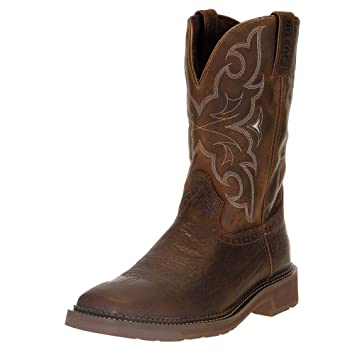 Amazon.com Justin Mens Stampede Amarillo Work Boots Pet