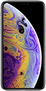 Apple iPhone XS Max, 256GB, Silver - For AT&T (Renewed)