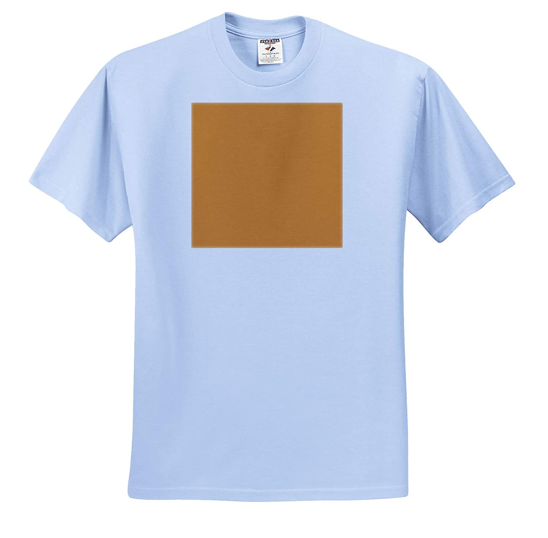Color Butterscotch 3dRose Kultjers Colors Adult T-Shirt XL ts/_317394