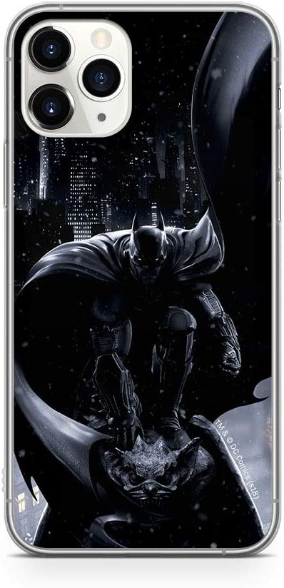 Ert Group WPCBATMAN6184 DC Cubierta del Teléfono Móvil, Batman 021, iPhone 11 Pro MAX