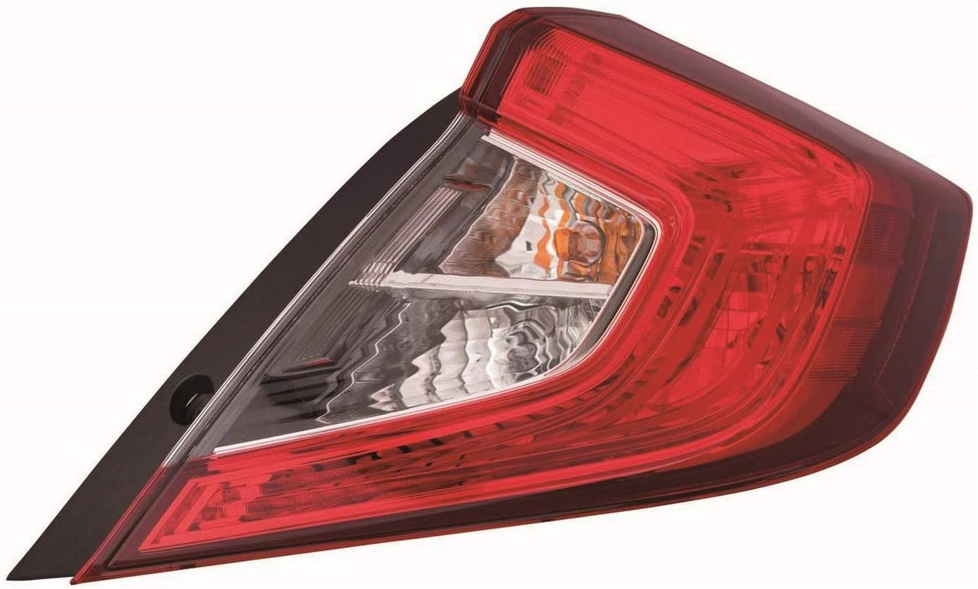 No variation Multiple Manufactures HO2805110C Standard Tail Light Assembly