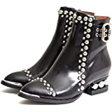 Jeffrey Campbell Womens Rylance Studded Ankle Boot