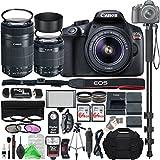 Canon EOS Rebel T6 Digital SLR Camera with 18-55mm EF-S f/3.5-5.6 IS II Lens & EF-S 55-250mm f/4-5.6 IS STM Lens + Ultimate Platinum Bundle