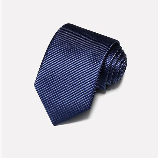 Corbatas YIXINY Hombre Vestido Rayas Negocios IR A Trabajar ...