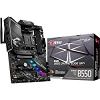 MSI MPG B550 GAMING EDGE WIFI Gaming Motherboard (AMD AM4, DDR4, PCIe 4.0, SATA 6Gb/s, M.2, USB 3.2 Gen 2, AX Wi-Fi 6…