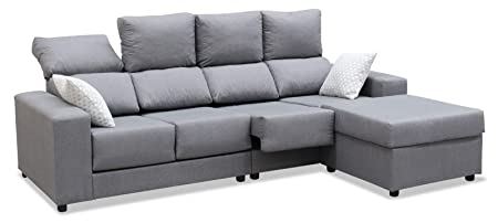Mueble Sofa Chaiselongue, Subida Domicilio, 4 Plazas, Color ...