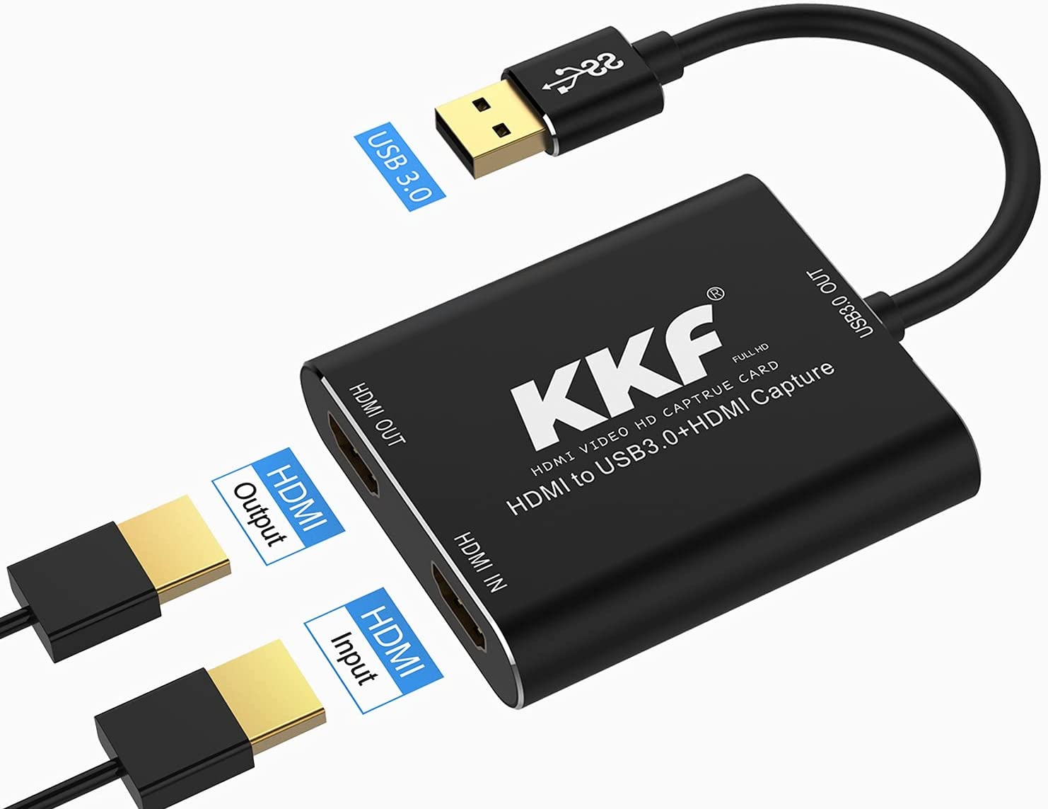 KKF USB3.0 1080P 60FPS HDMI Video Capture Card 4K $38.88 Coupon