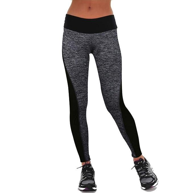 Xinantime Yoga Pantalones, Polainas de Entrenamiento Deportes para Mujer Pantalones