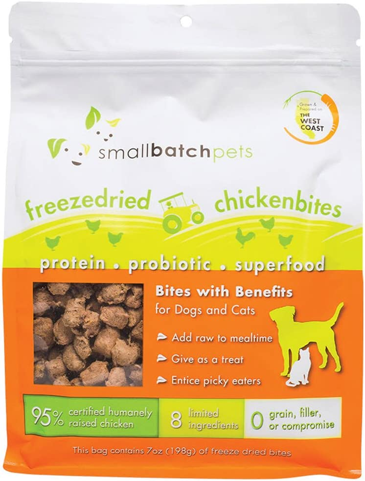 Small Batch Small Bites Freeze Dried Dog Food (Chicken, 7 oz.)