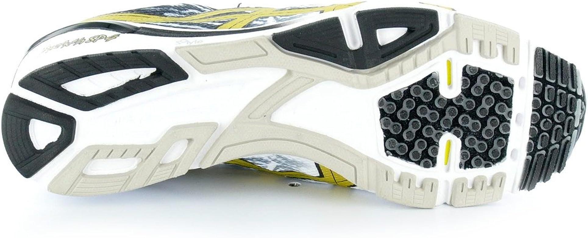 ASICS Piranha SP 4 Zapatilla de Running Caballero, Blanco/Negro/Oro, 40.5: Amazon.es: Zapatos y complementos