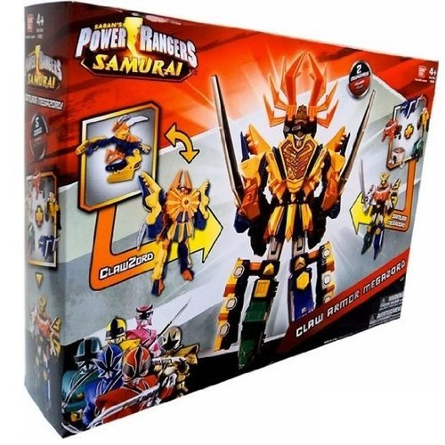 Power Rangers Samurai Deluxe DX Action Figure 2Pack Claw Armor Megazord