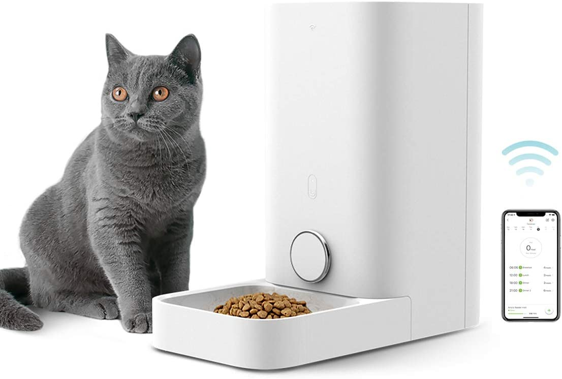 PETKIT-Automatic-Cat-Feeder,-Wi-Fi-Enabled-Smart-Feed-Pet-Feeder-for-Cats-and-Small-Dogs