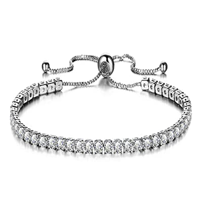 Femme Bijoux Réglable Joeyan Strass Fantaisie Moderne Bracelets nmN0vw8