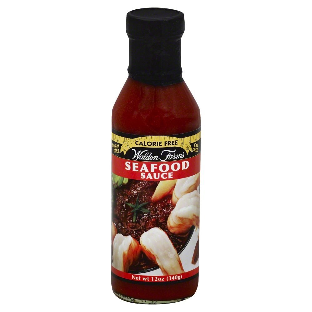 Amazon.com : Walden Farms Calorie-free Seafood Sauce 12 Oz (Pack of 2) : Barbecue Sauces : Grocery & Gourmet Food