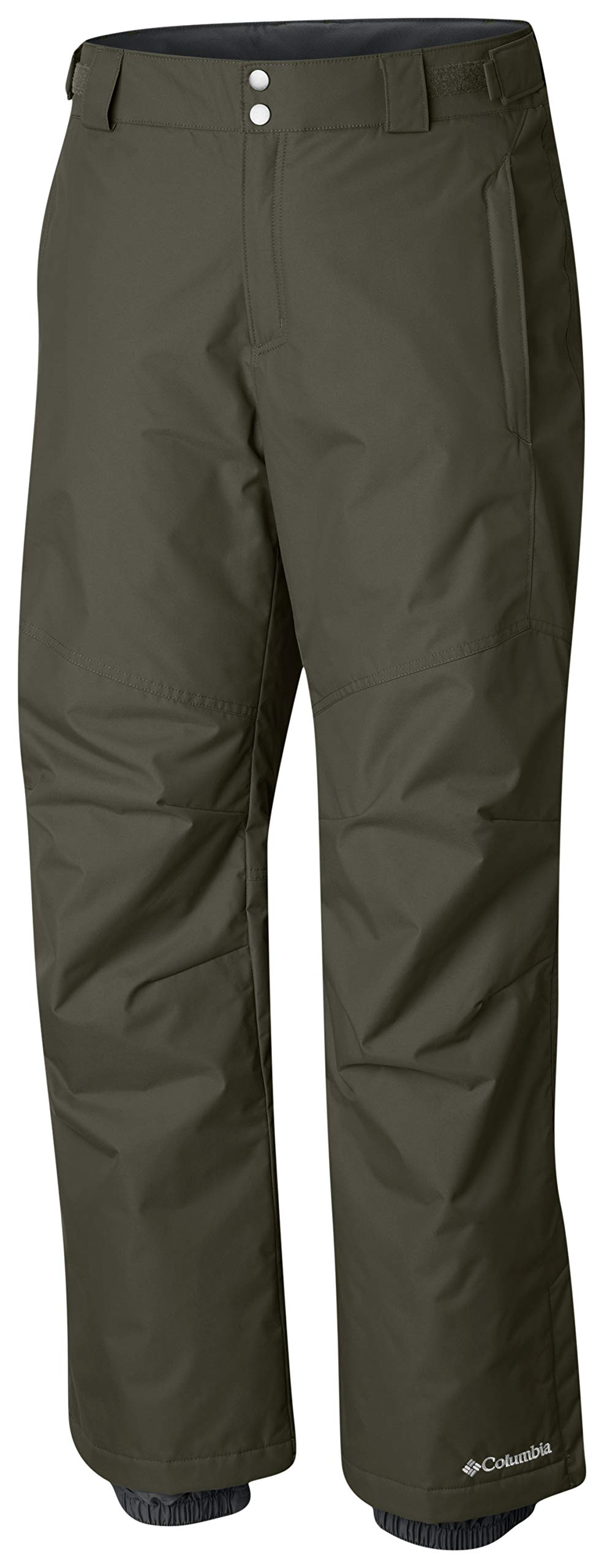Columbia Men's Bugaboo II Pant, Waterproof and Breathable, Peatmoss, Small x Regular