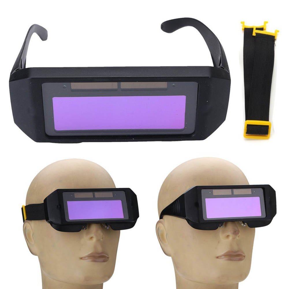 2 v/ías Sendgo Gafas de soldar para oscurecimiento Solar