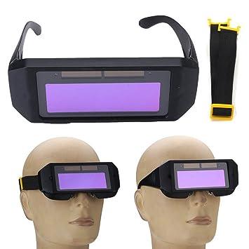 LCD-Auto Solar Verdunkelung Schweißbrille Brille Maske Brille Helm Ersatzteile